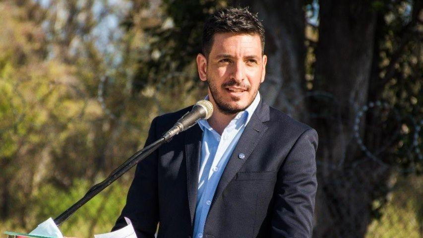 Marcos Ferrer, intendente de Río Tercero.