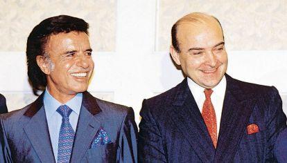 Carlos Menem y Domingo Cavallo