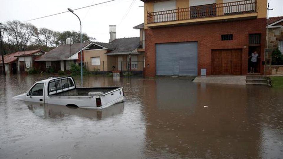Mar del Plata temporal 20210216