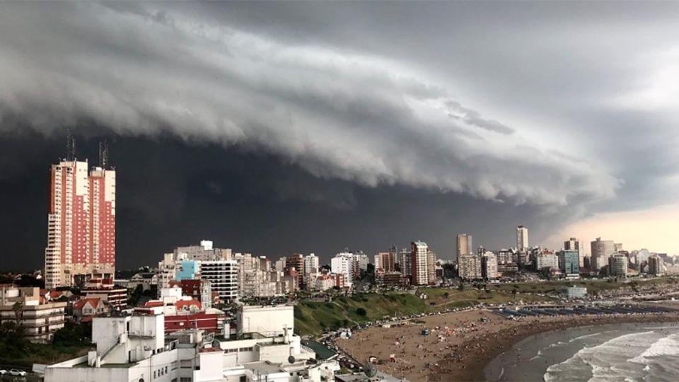 temporal de Mar del Plata