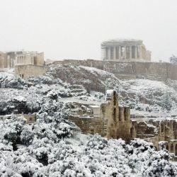 Medea es el peor temporal de nieve que sacudió a Grecia en las últimas dos décadas.