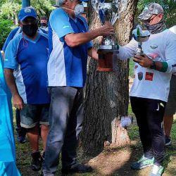 Todos se dirigieron al parque en el sector del bosquecito donde se sirvió un refrigerio y se realizó la entrega de premios de las distintas categorías.