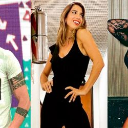 Cristian U - Cinthia Fernánadez - Mónica Farro   Foto:cedoc