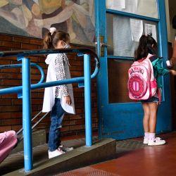 Ciudad de Buenos Aires: Comenzaron las clases en cuatro distritos, con un esquema progresivo y de presencialidad cuidada. | Foto:Télam