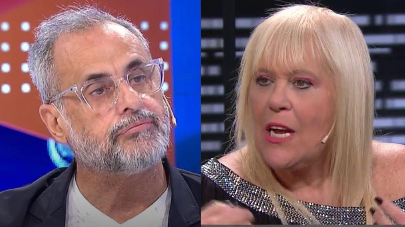 Jorge Rial y Laura Ubfal