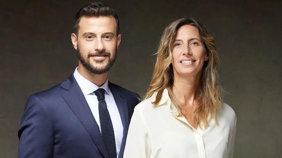 Luciana Geuna y Diego Leuco en Telenoche: Así fueron sus looks de debut