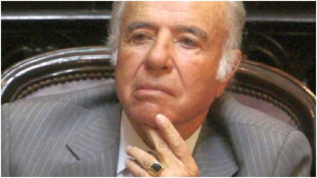 El anillo de Carlos Menem.