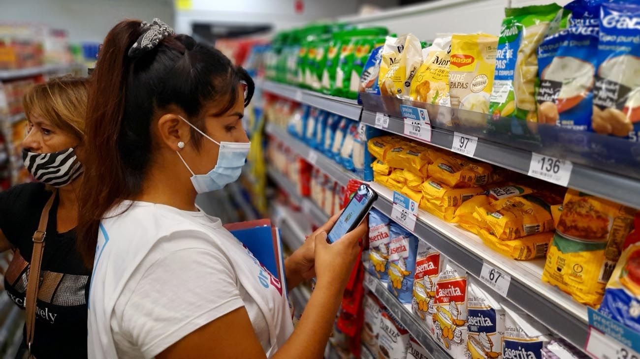 Precios de productos en Supermercados