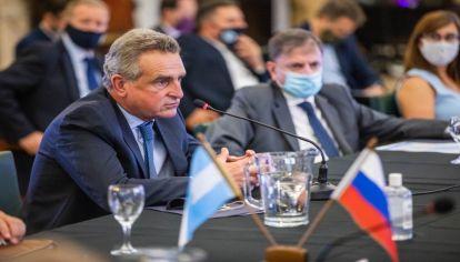 Rossi inauguró la VII Comisión Intergubernamental para la Cooperación Técnico-Militar República Argentina-Federación Rusa.