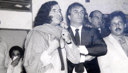 Carlos Menem y su vida política.