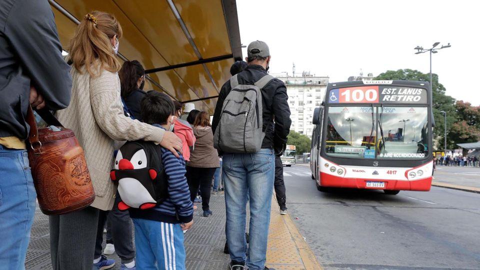 regreso a clases transporte publico