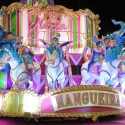 La Escuela de Samba de Mangueira, ganadora del carnaval 2019, se quedó con las ganas de ir por otro título.
