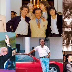 Carlos Menem con famosos de todo el mundo | Foto:cedoc
