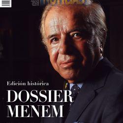 Tapa: Dossier Carlos Menem | Foto:Pablo Temes