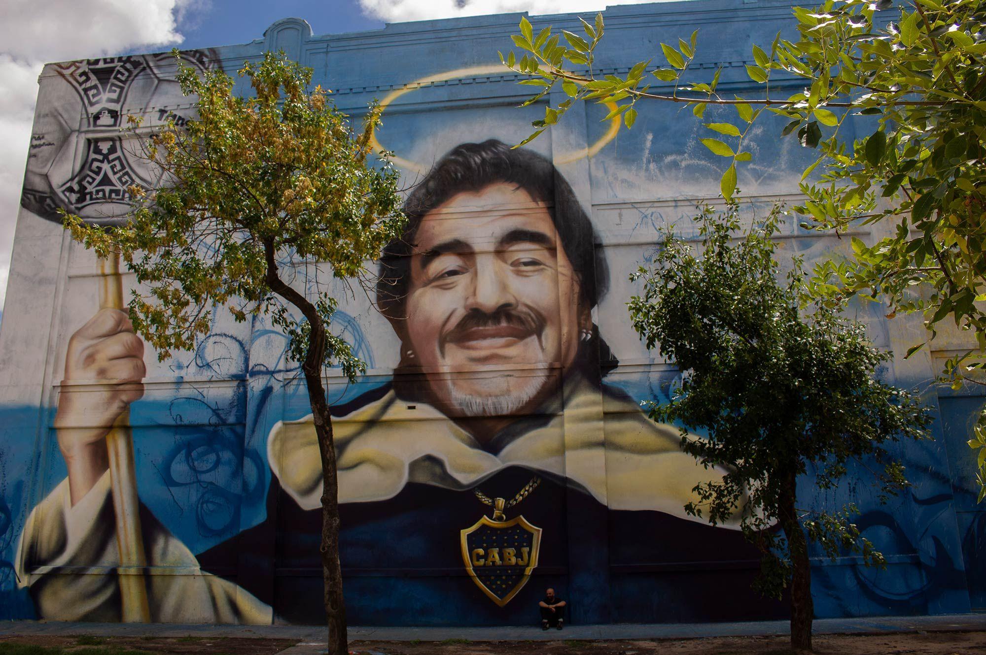 """Mural """"San Diego del Barrio de la Boca"""""""