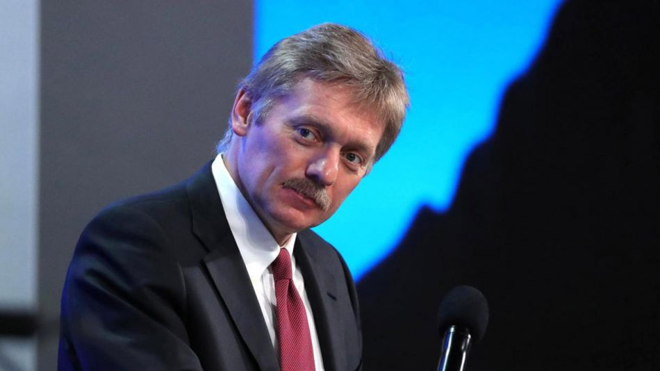 Dmitry Peskov, funcionario ruso 20210218