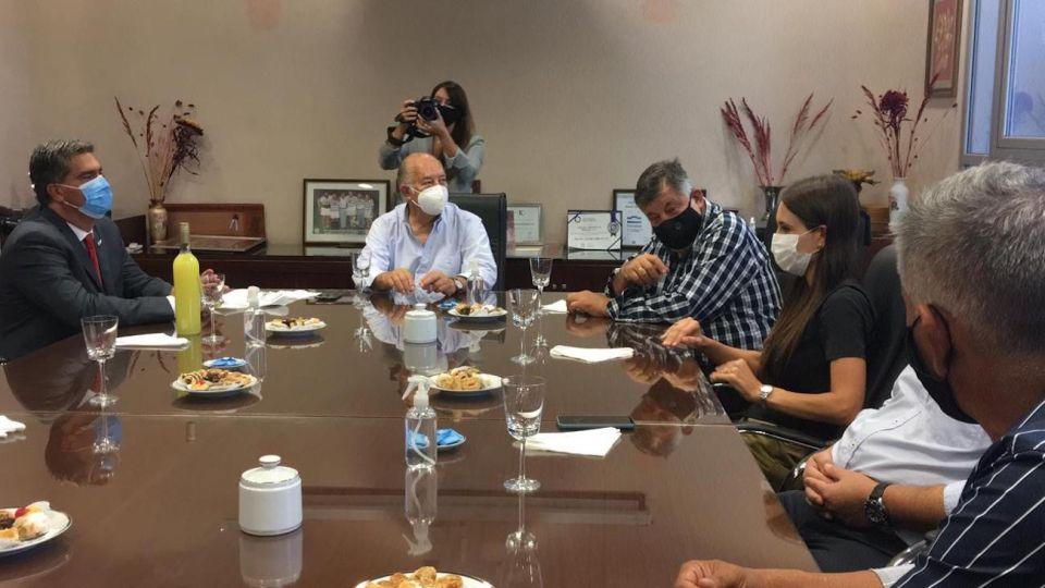 El gobernador del Chaco, Jorge Capitanich, se reunió con industriales del NEA y NOA.