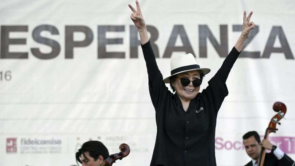 Yoko Ono obras y Johm Lennon
