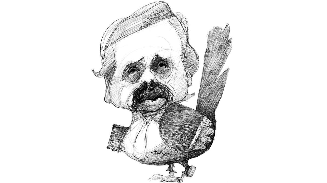 Halcones y palomas, Alberto Fernández.