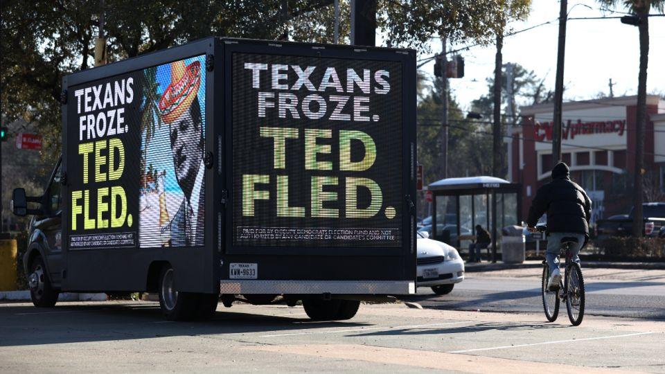 Ted Cruz, senador por Texas.
