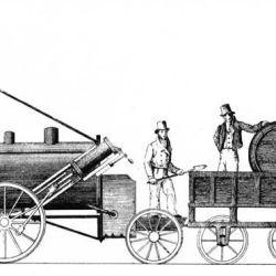 La máquina no logró ser incorporada al ferrocarril.