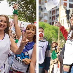 Angélica Graciano y Mariana Scayola | Foto:Cedoc