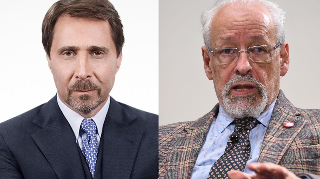 Eduardo Feinmann y Horacio Verbitsky