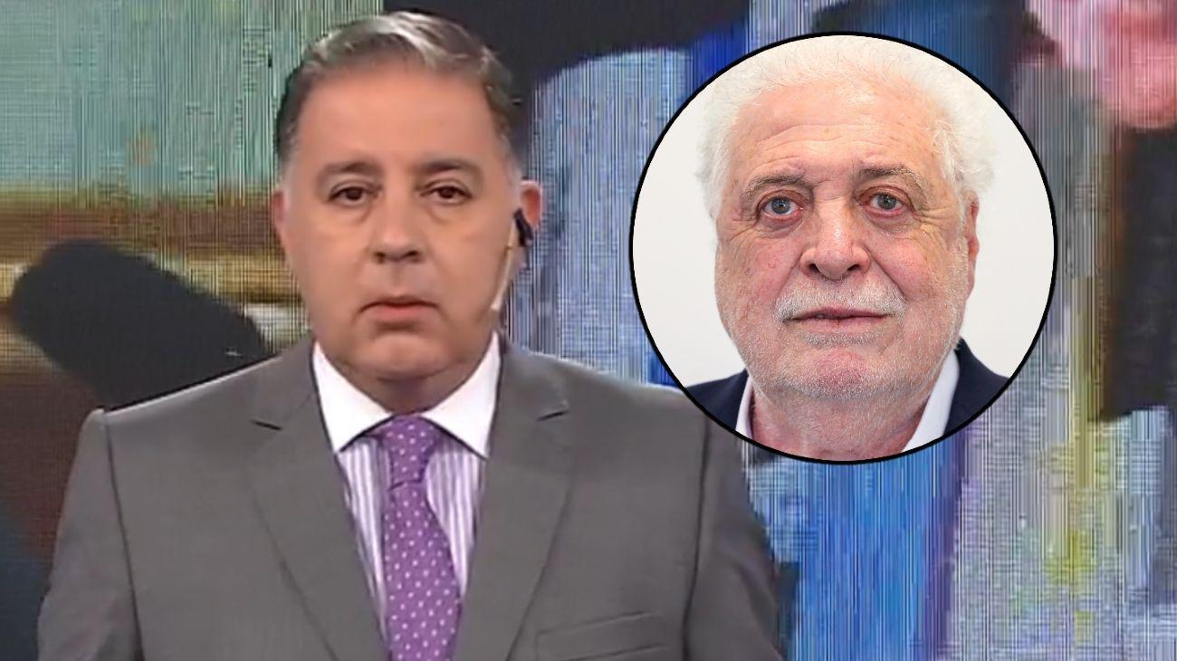 Fabián Doman y el exministro de Salud, Ginés González García