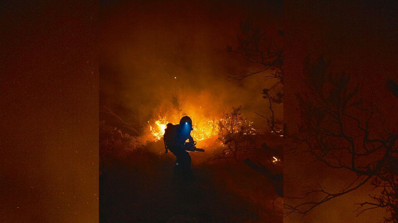 Incendio en El Bolsón: fuego trágico