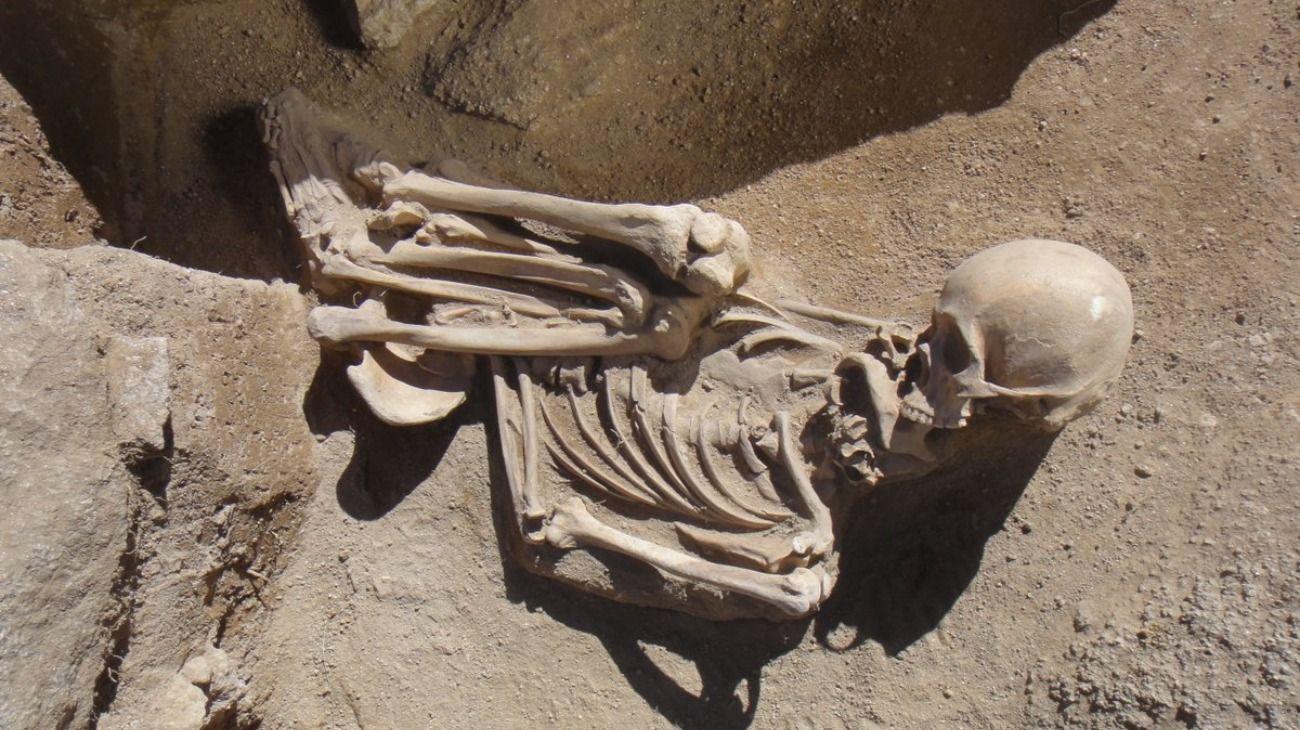 Localizaron un total de doce tumbas en el Valle del Cajón.