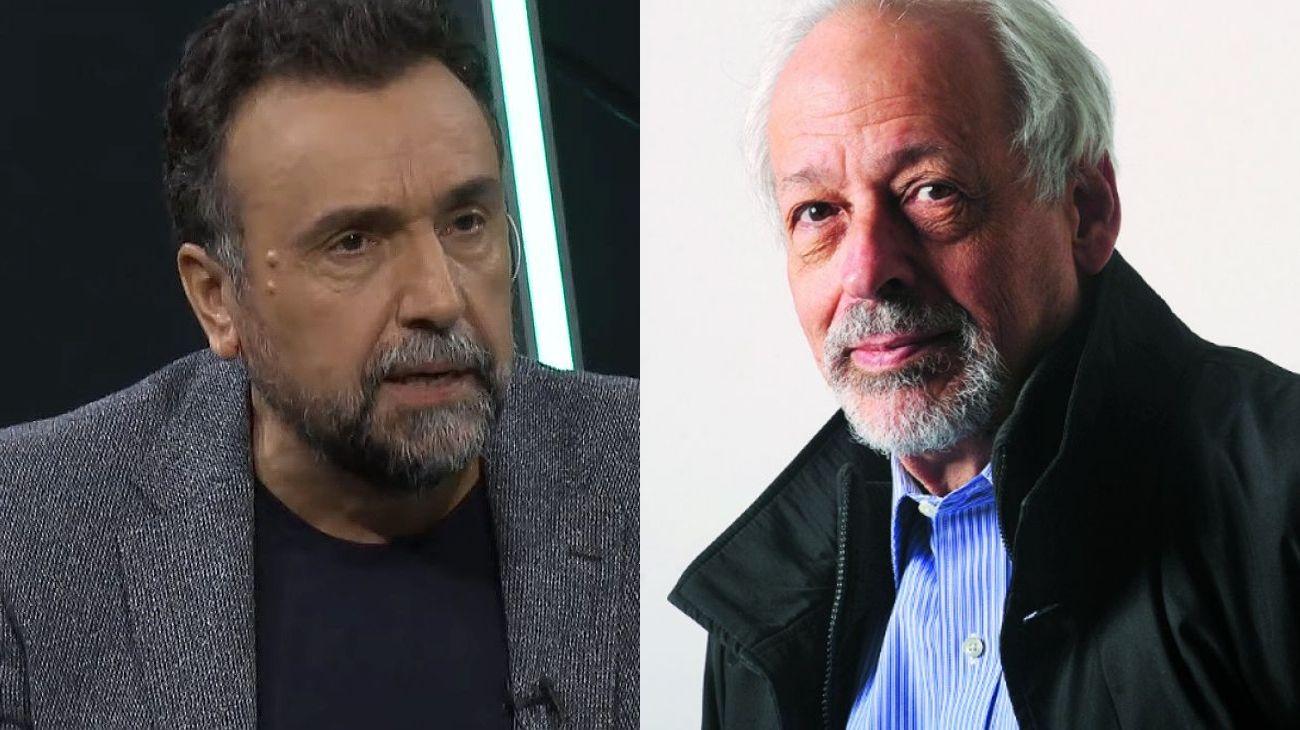 Roberto Navarro y Horacio Verbitsky