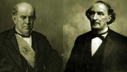 Domingo Faustino Sarmiento/Bartolomé Mitre