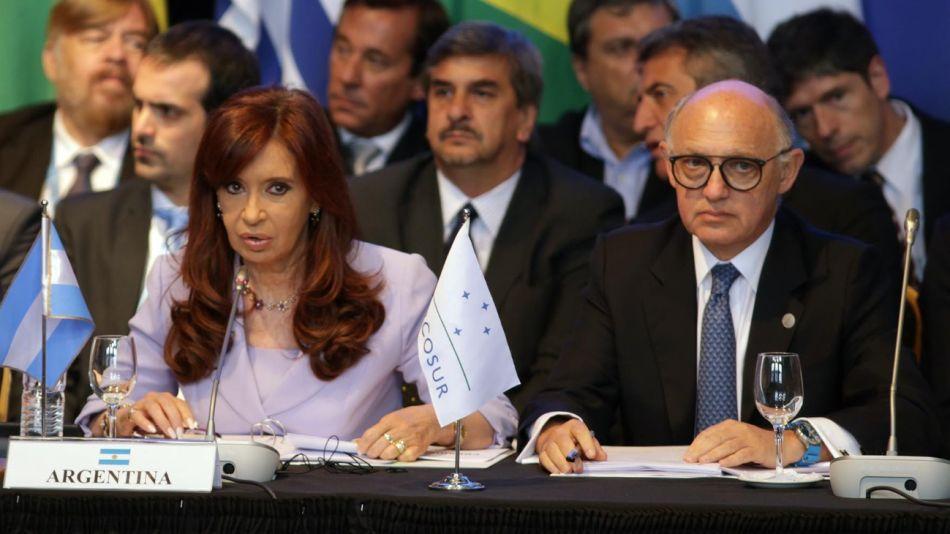 Cristina Kirchner y Héctor Timerman fueron denunciados por Alberto Nisman en 2014.