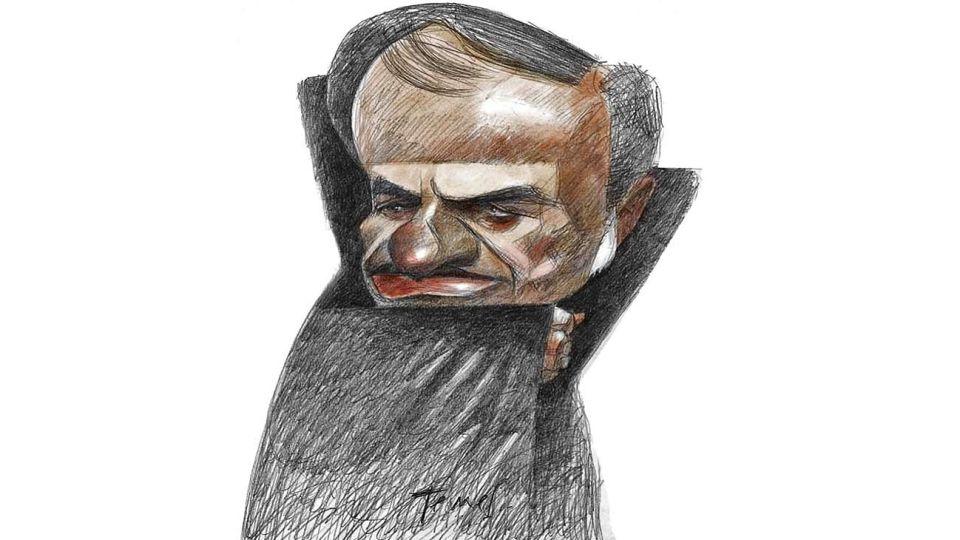 Drácula, Carlos Menem.