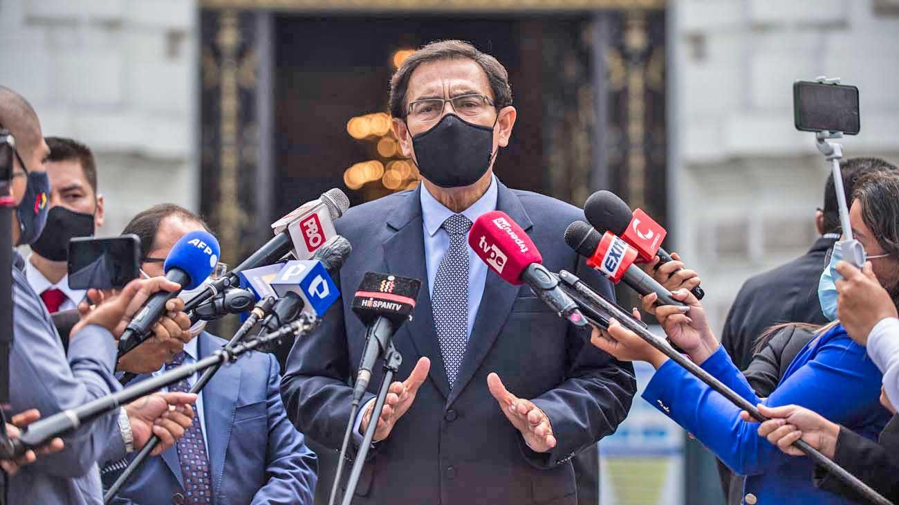 Ex mandatario. Martín Vizcarra explicó que había sido parte de los tests, pero fue desmentido.
