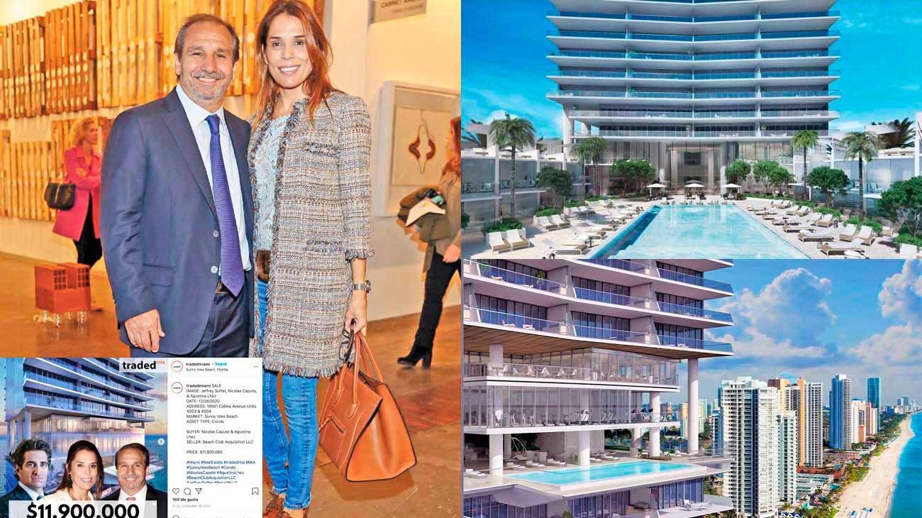 Lujo. Las unidades en la Turnberry Ocean Club Residences se vendieron con rapidez. La compra de Caputo llamó la atención en los medios de Miami.