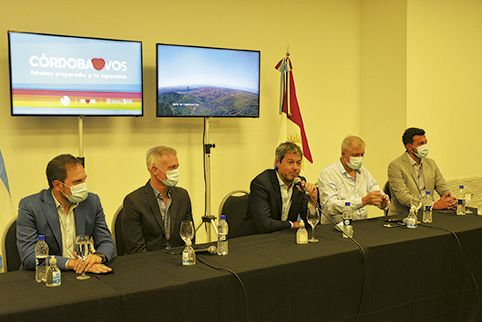 ANUNCIOS. En su última visita a Córdoba, el ministro de Turismo Matías Lammens les dijo a los empresarios que analizaban lanzar el PreViaje para turistas extranjeros.