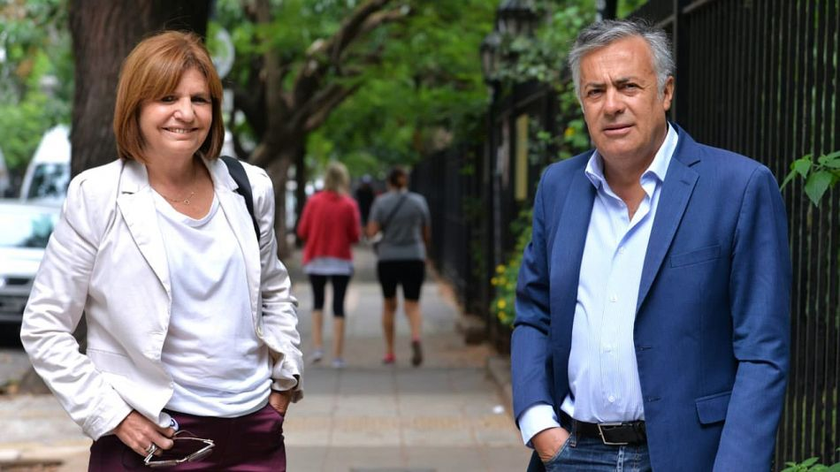 Archivo. Patricia Bullrich y Alfredo Cornejo, dos de los firmantes del documento.