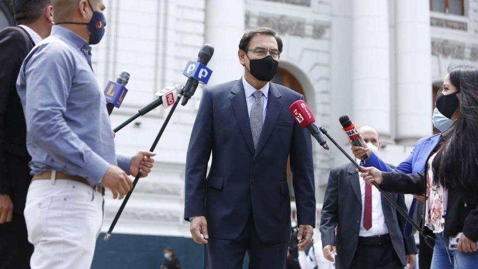 El ex presidente Vizcarra en el centro del escándalo.