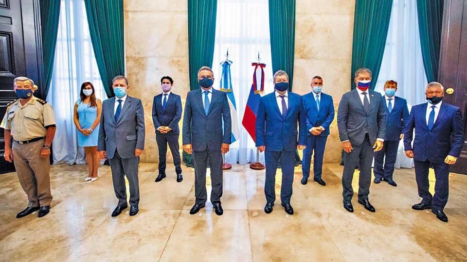 Encuentro. La comisión intergubernamental para la coperación técnica-militar no se reunía desde 2017.