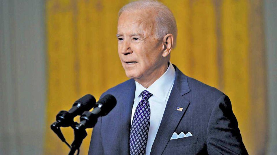 Mandatario. Proclamó ante sus aliados el final definitivo del American First de su predecesor.