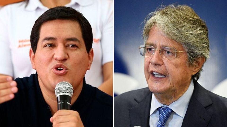 ¿A SEGUNDA VUELTA? El ganador de la segunda vuelta electoral el próximo 11 de abril, por ahora entre Andrés Arauz y Guillermo Lasso, asumirá la presidencia el 24 de mayo para el periodo 2021-2025.