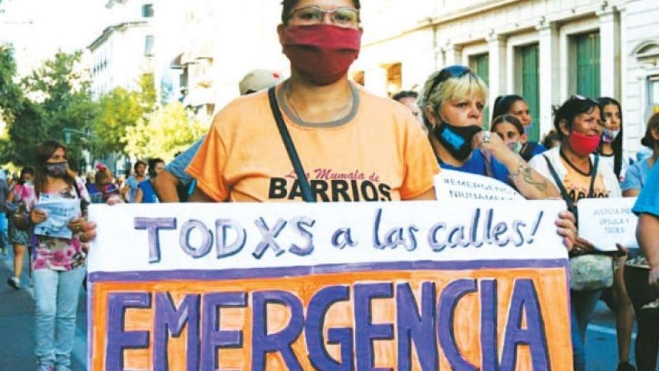 Desde Ni una Menos piden emergencia nacional
