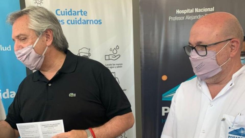 Hospital Posadas Alberto Maceira alberto fernandez g_20210220