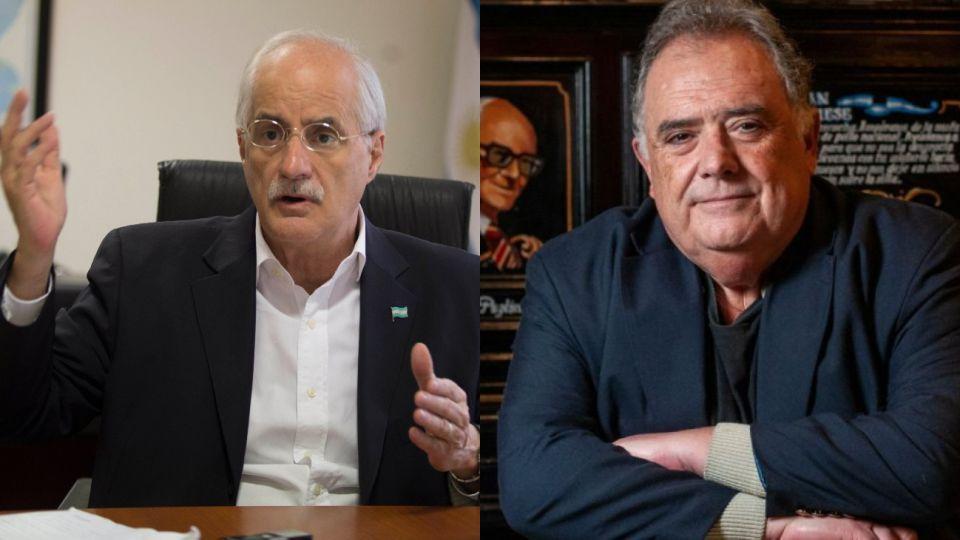 Los legisladores nacionales Taiana y Valdés pasaron por el Vacunatorio VIP.