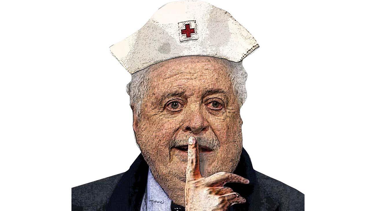 Silencio hospital VIP, Ginés González García.