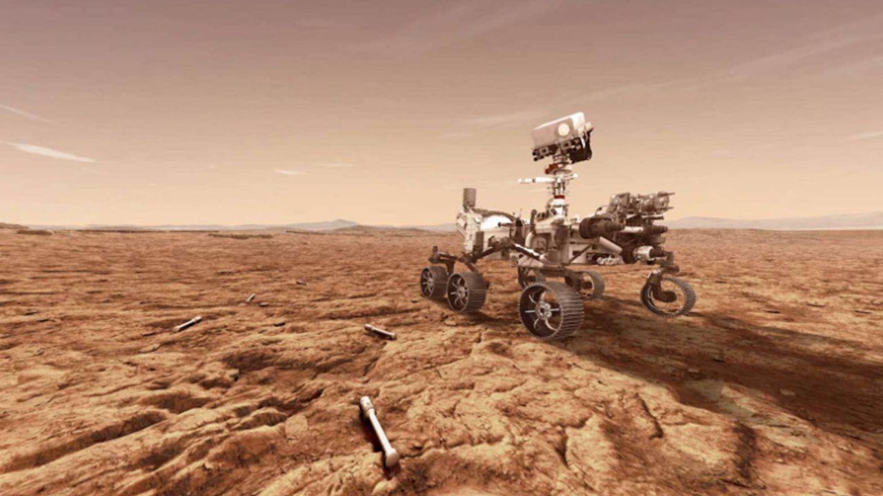 El Perseverance en Marte | Foto:Cedoc