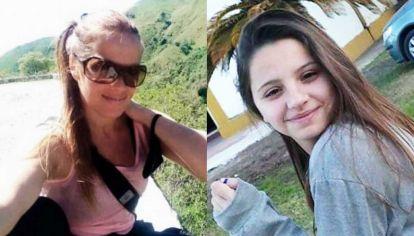 Víctimas. Ivana Módica, fue asesinada en Córdoba; Úrsula Bahillo, fue asesinada por su ex pareja en Rojas.