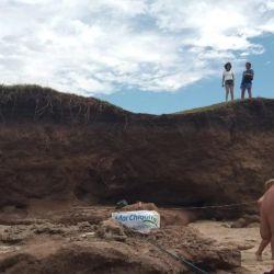 Los restos fueron descubiertos por vecinos de la zona y por turistas.