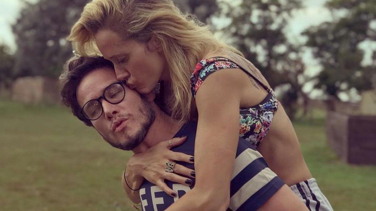 Julieta Prandi y Emanuel Ortega juntos y enamorados